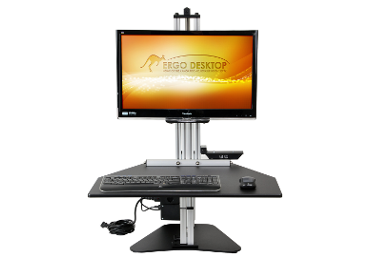 Kangaroo Electric Pro Standing_Front_Monitor_a