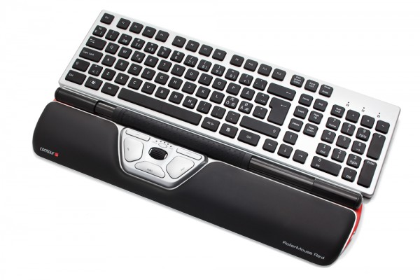 Contour_RollerMouse_Red_angled_w_wrist_rest_keyboard_black_keys_72dpi